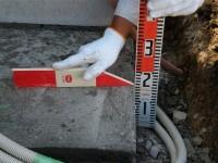 コンクリートベース厚み