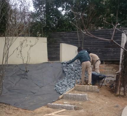 石積み 法面